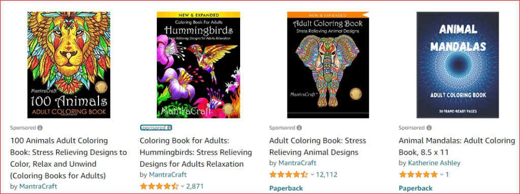 coloring books for adults on amazon