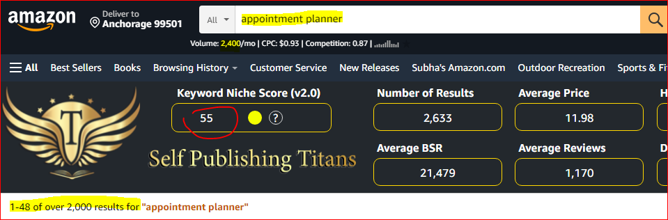 kdp_niches_2021_appointment_planner