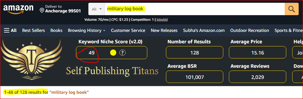 military_log_book_best_niches_for_amazon_kdp
