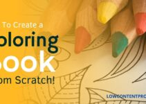 How To Create a Coloring Book From Scratch for Amazon Kdp