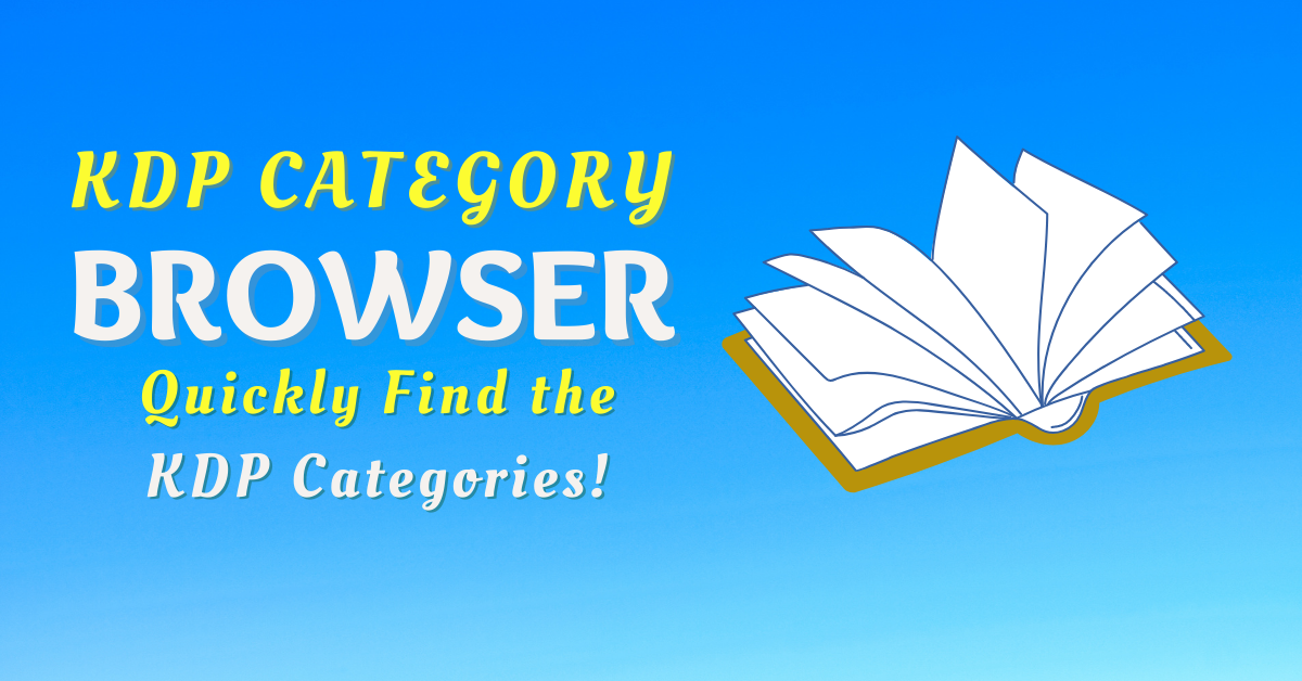 KDP Category Browser – Quickly Find Amazon Book Categories