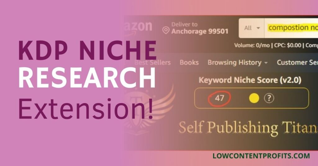kdp niche research extension