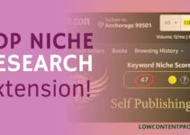 Kdp Niche Research Extension For Low Content Books